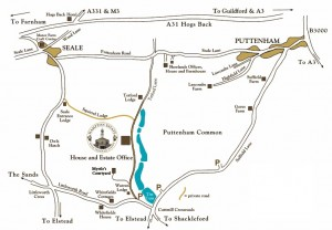 puttenham map